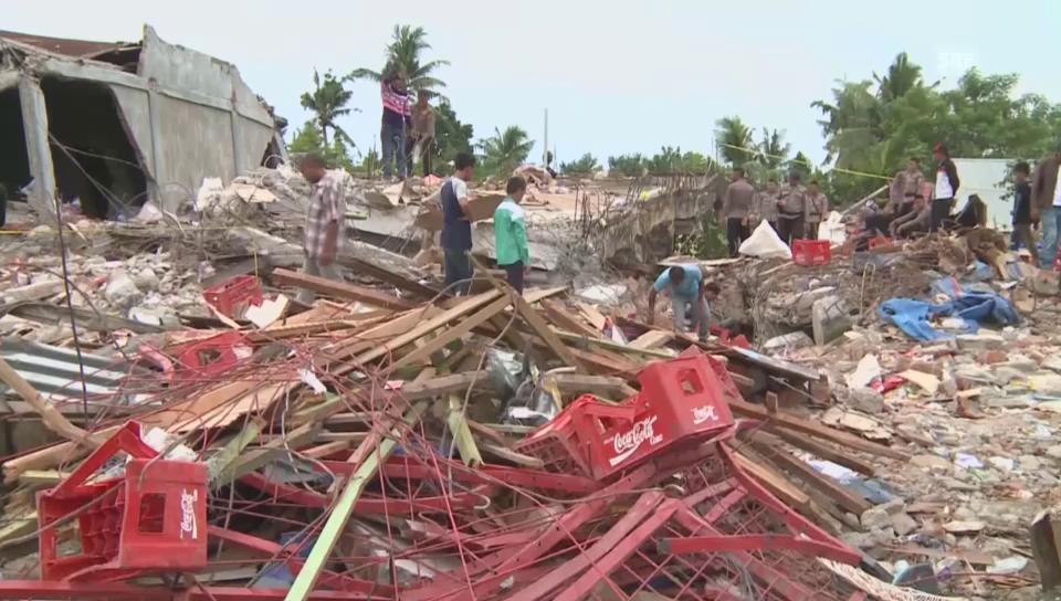 Bild der Zerstörung in Aceh