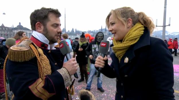 Video «Luzerner Fasnacht vom 11.02.2013» abspielen