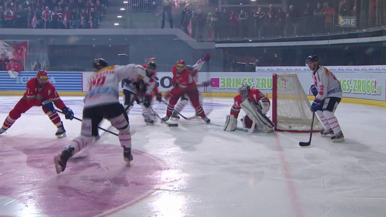 Eishockey: Arosa Challenge, Zusammenfassung Weissrussland - Schweiz («sportlive» vom 21.12.2013)