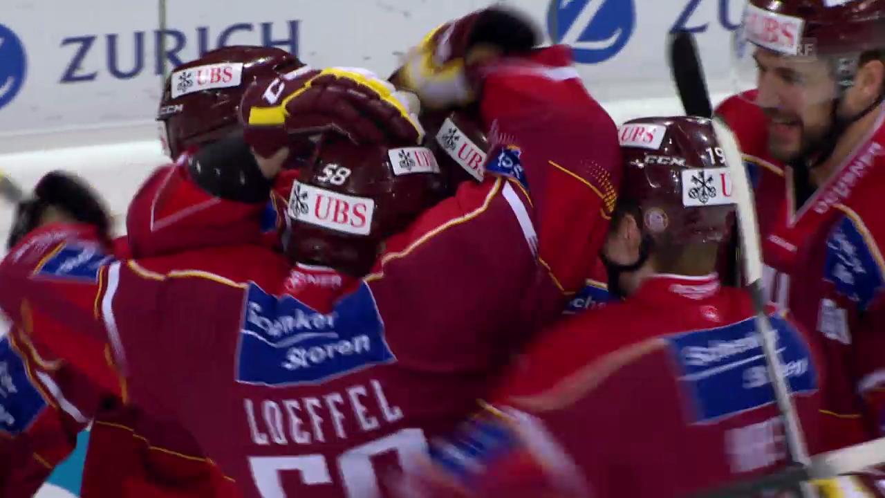 Eishockey: Spengler Cup, Final Ufa - Genf, Führungstor Genf