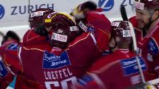 Video «Eishockey: Spengler Cup, Final Ufa - Genf, Führungstor Genf» abspielen