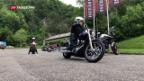 Video «Motorrad: Die Gefahr fährt mit» abspielen