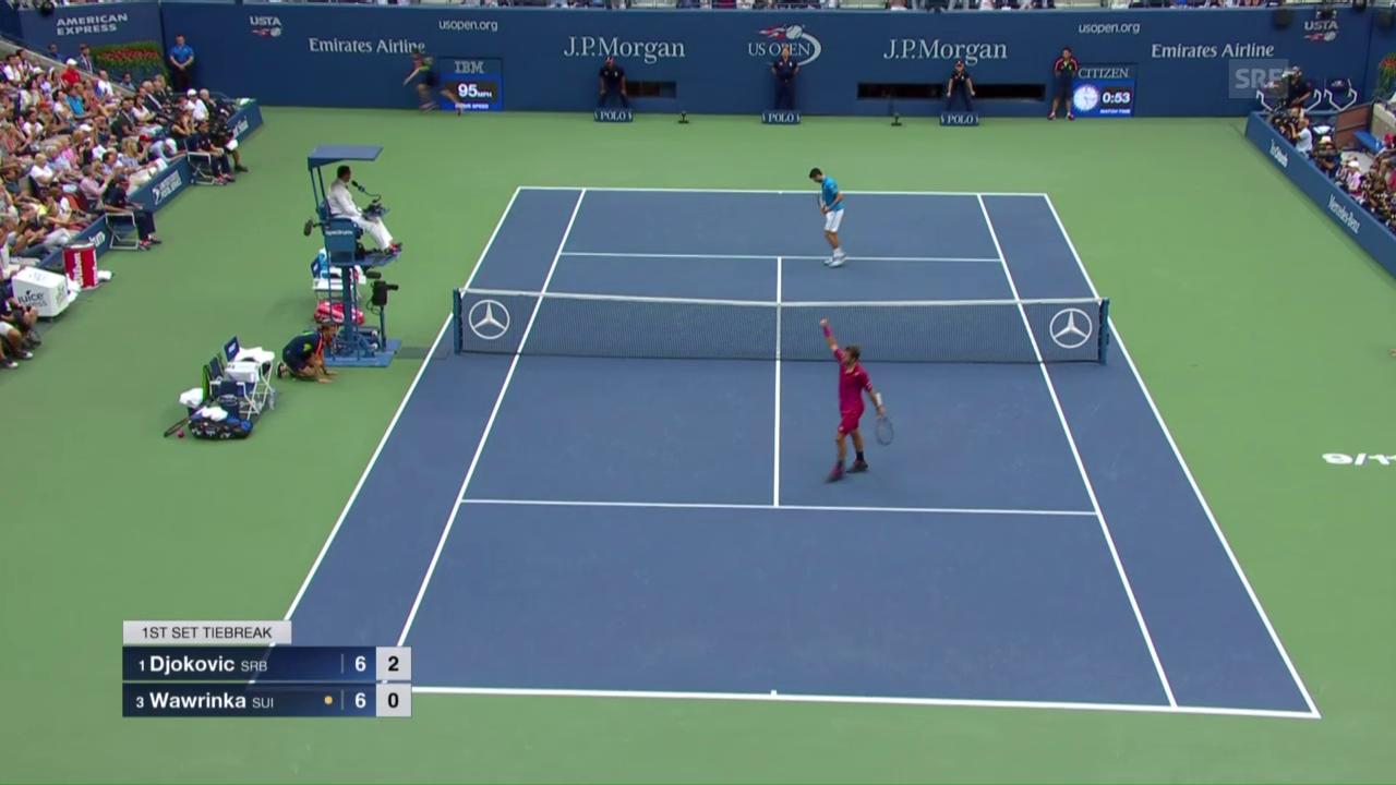 Wawrinka - Djokovic: Zusammenfassung des Endspiels