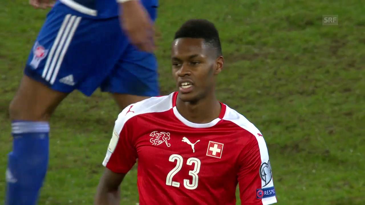 Edimilsons Debüt im Nationalteam