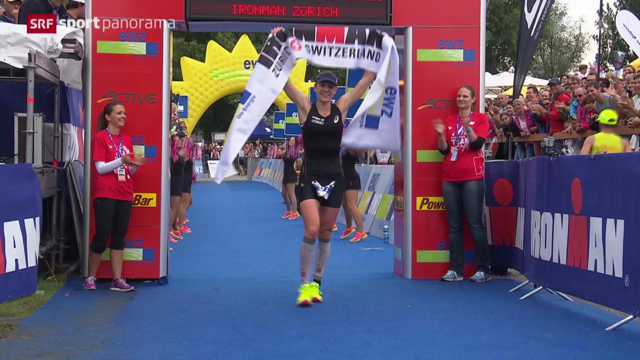 Triathlon: Ironman Switzerland in Zürich, Frauen