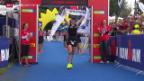 Video «Triathlon: Ironman Switzerland in Zürich, Frauen» abspielen