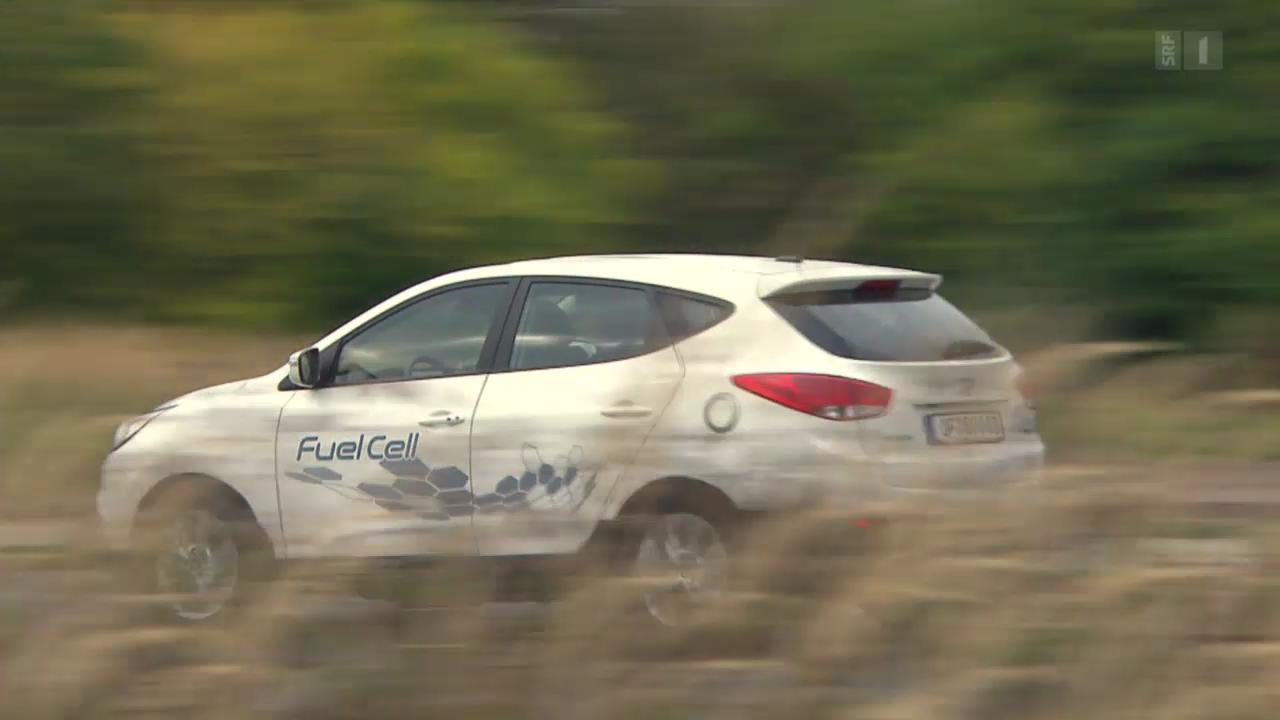 Das erste Serien-Brennstoffzellenauto