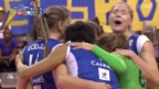Video «Volleyball: Champions League, Volero ZH - Cannes» abspielen