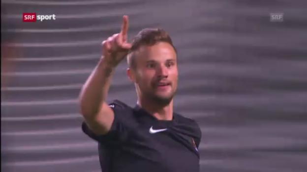 Video «Seferovics Traumtreffer gegen Lyon («sportaktuell»)» abspielen