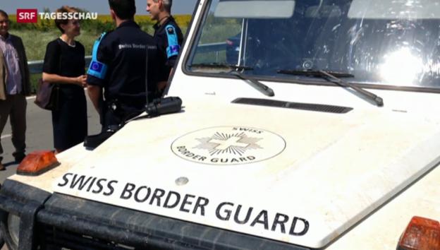 Video «Engere Polizeiarbeit mit Bulgarien» abspielen