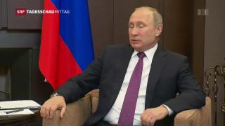 Video «Putin lädt zu Syrien-Gipfel» abspielen