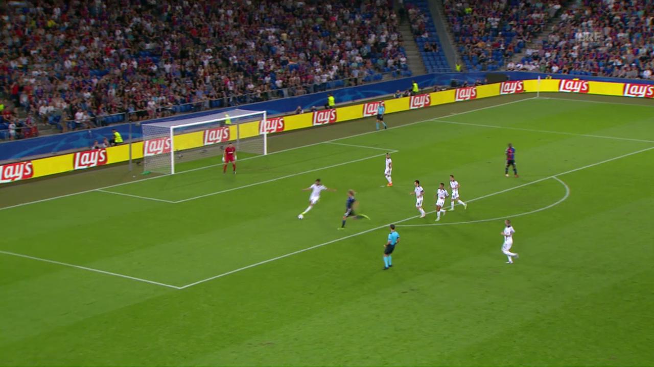 Basel mit Remis gegen Ludogorets
