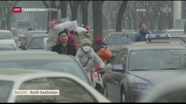 Video «Vor G20-Gipfel: USA und China ratifizieren Pariser Klimaabkommen» abspielen