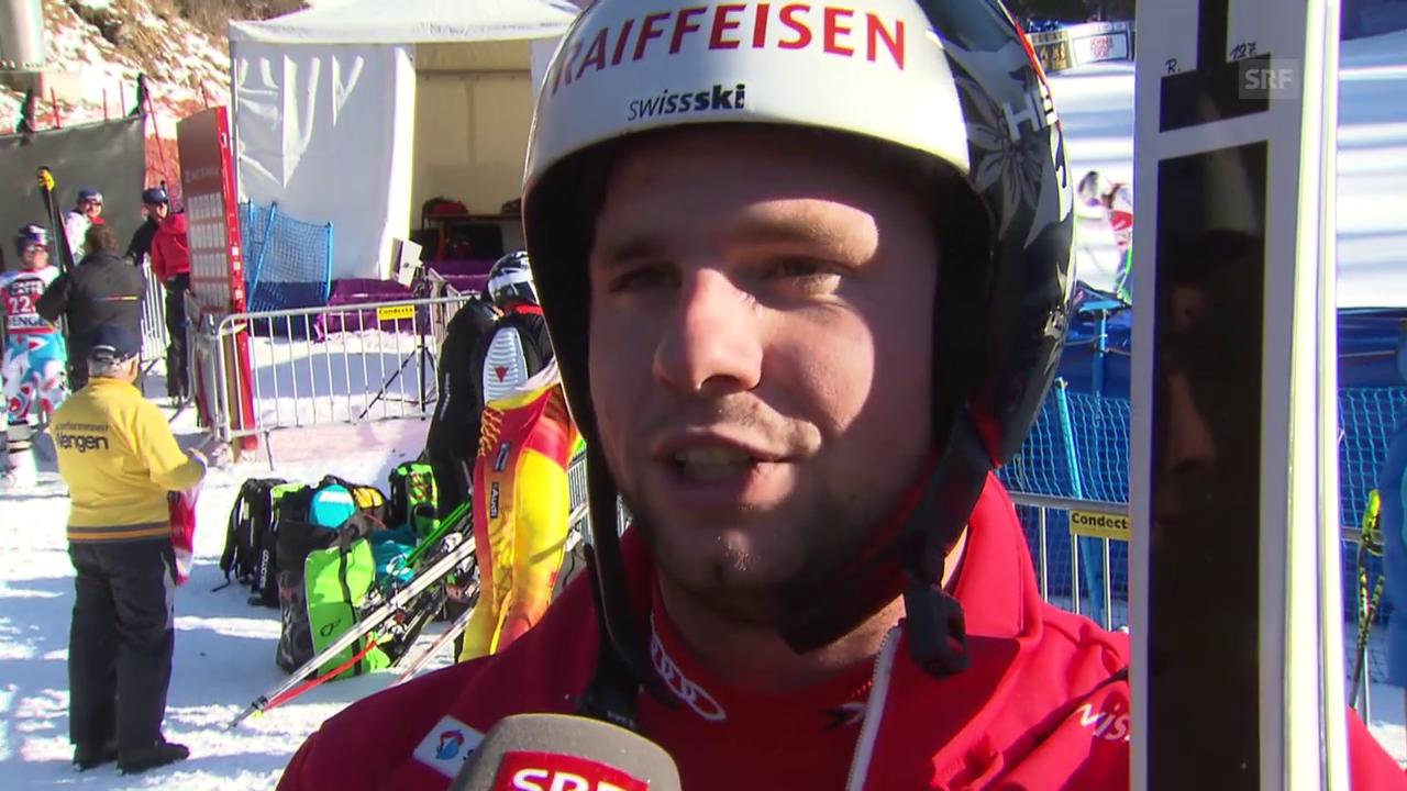 Ski alpin: Vail 2015, Feuz zur Birds of Prey