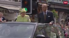 Link öffnet eine Lightbox. Video Die Queen und Prinz Philip feiern 70. Hochzeitstag abspielen