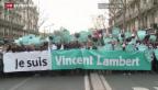 Video «Vincent Lambert darf sterben» abspielen