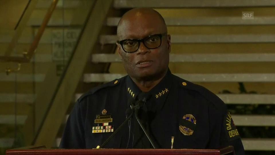 Dallas' Polizeichef David Brown