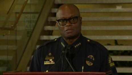 Video «Dallas' Polizeichef David Brown» abspielen