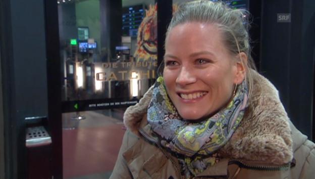 Video «Andrea Jansen übers «Ellebögle»» abspielen