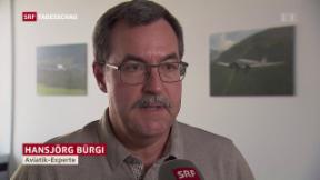 Video «Aviatikexperte sucht nach Erklärungen für den Absturz» abspielen