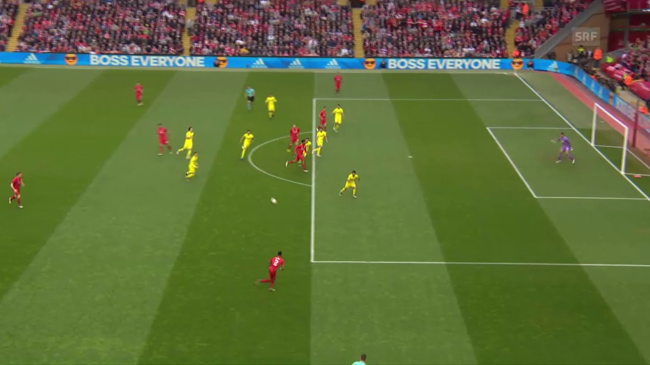 Die Live-Highlights von Liverpool-Villarreal