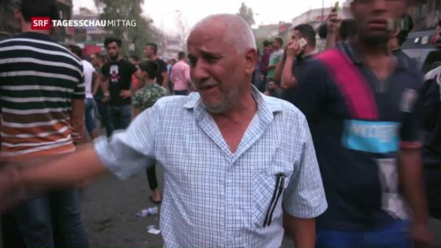 Video «Irak nach dem Anschlag» abspielen