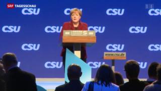 Video «Merkel zu Besuch in München» abspielen
