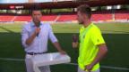 Video «GC-Basel: Interview Hajrovic» abspielen