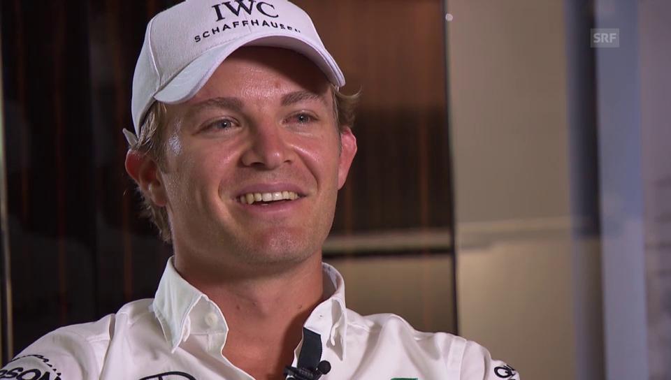 Nico Rosberg über seine künftige Vaterschaft