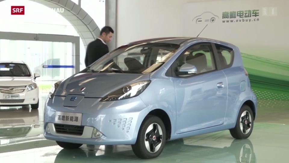 Elektromobile gegen Chinas Luftverschmutzung