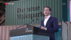 Video «Sebastian Kurz besucht die Schweiz» abspielen