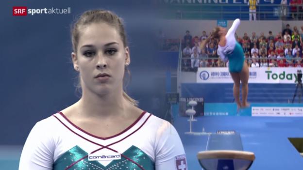 Video «Turnen: WM in Nanning, Sprungfinal Frauen» abspielen