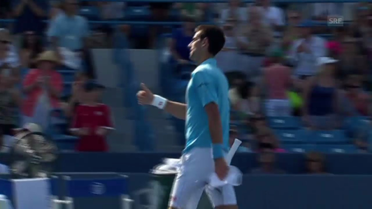Tennis: Djokovic unterliegt Robredo