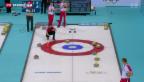 Video «Schweizer Curler nach kapitalem Fehler vor dem Out» abspielen