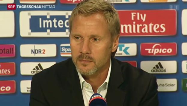 Video «Fink nicht mehr HSV-Coach» abspielen