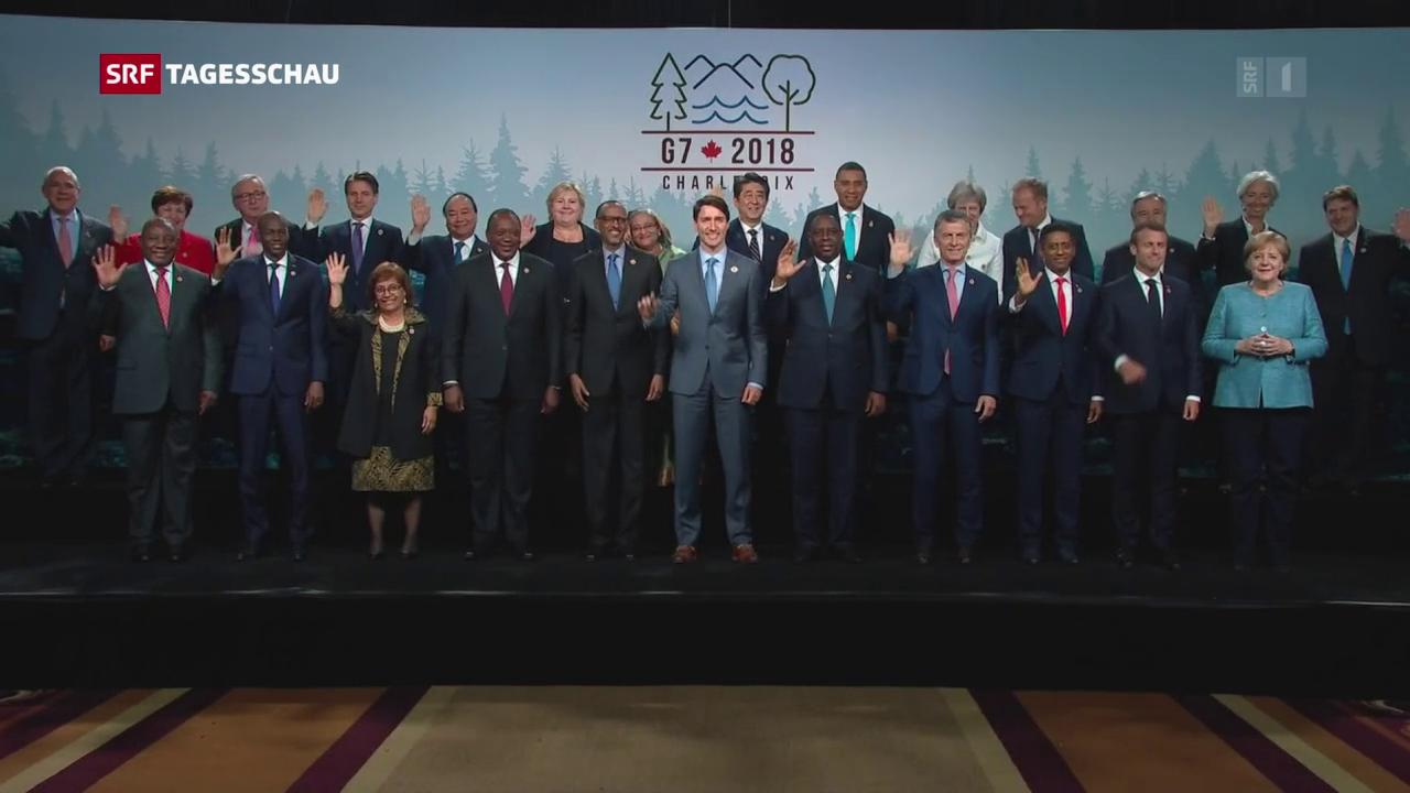Abschlusserklärung beim G7-Gipfel geplatzt