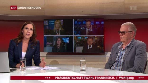 Video «Präsidentschaftswahl Frankreich vom 23.04.2017, 22:00» abspielen
