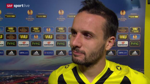 Video «Fussball: Interview mit Raphael Nuzzolo» abspielen