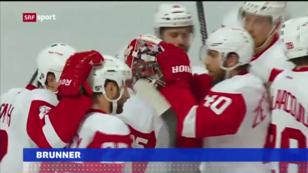 Video «NHL: Damien Brunners Tor gegen Chicago» abspielen