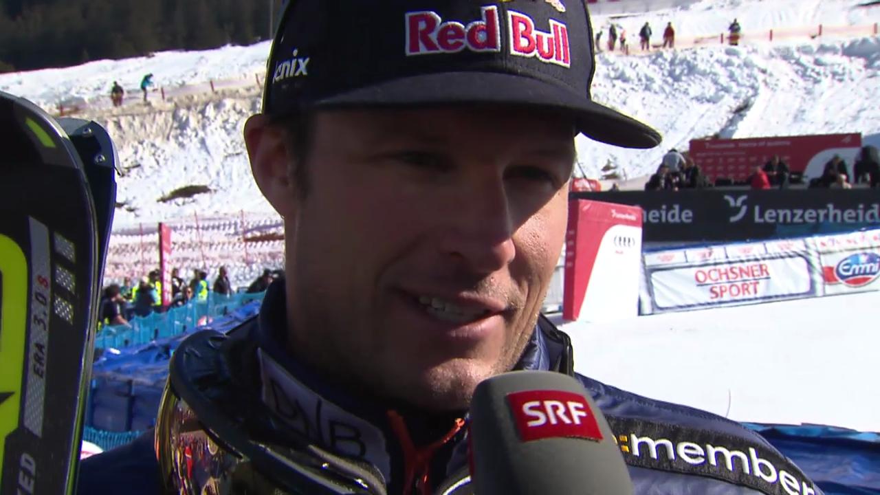 Aksel Svindal im Interview («sportlive», 13.03.2014)