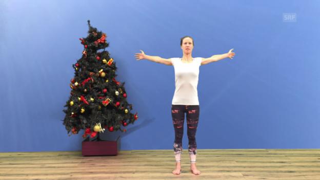 Video «Dehnen für eine gesunde Haltung» abspielen