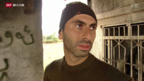 Video «Der Schweizer, der gegen den IS kämpft» abspielen