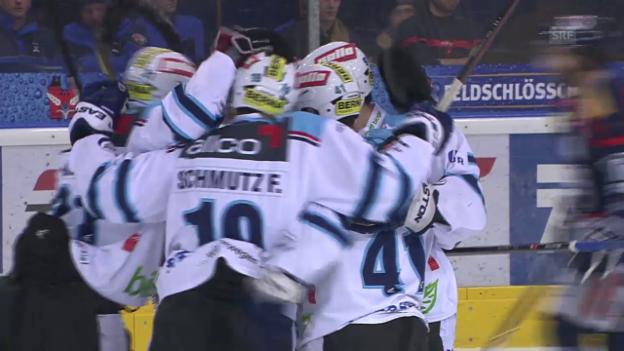 Video «Eishockey: Playout-Final, Ambri - Rapperswil» abspielen