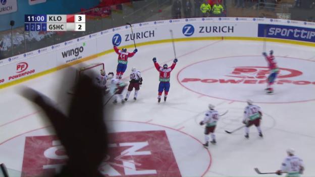Video «Die Tore von Kloten - Genf» abspielen