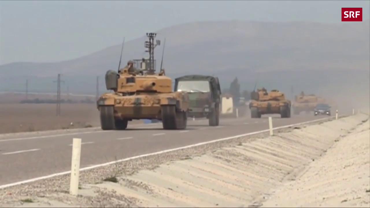 Türkei setzt Offensive gegen Kurden fort