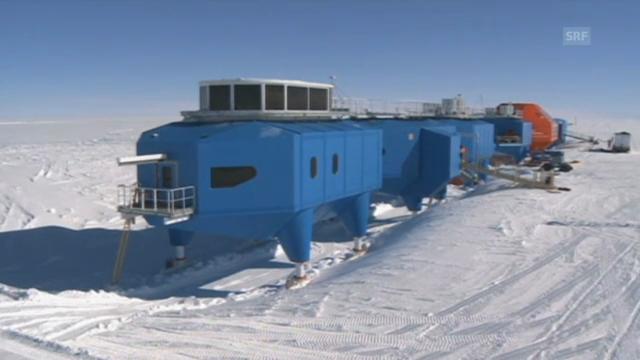 Die Forschungsstation Halley VI in der Antarktis (unkommentiert)