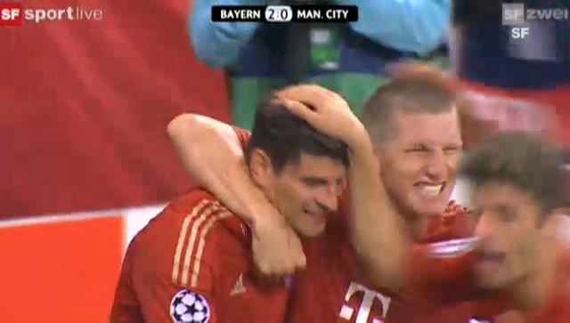 CL: Bayern München - Manchester City