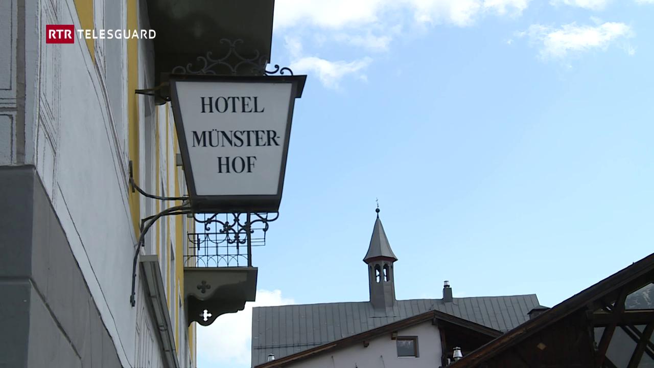 Dus giuvens da la Val Müstair dattan nova vita al hotel Münsterhof