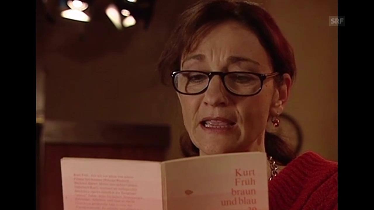 Jessica Früh liest Gedicht ihres Vaters (aus «Licht und Schatten»)
