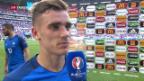 Video «Frankreich im EM-Viertelfinal» abspielen